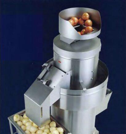 svogūnų lupimo mašina